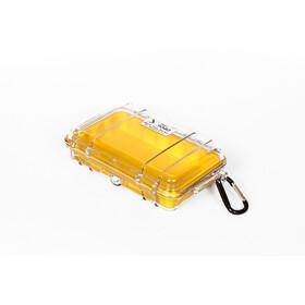 Peli MicroCase 1010 Caja, amarillo/transparente